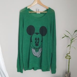Disney Parks Animal Kingdom Mickey sweater